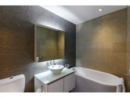 Bright and Immaculate Luxury 1 Bed, 1.5 Bath at Platinum Condos
