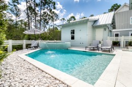 Charming Custom Built House in Watercolor Near Gulf