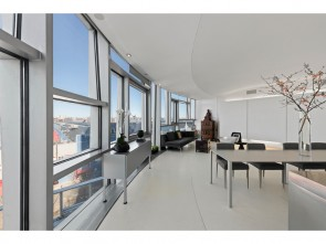 Jaw-Dropping 1 Bed with Panoramic Hudson River Views