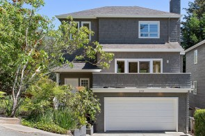 Nantucket Glam in Mill Valley!  Corner Lot and Loft!