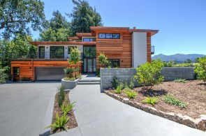 Just Built Modern View home with studio unit on .43 acre lot in Ross!